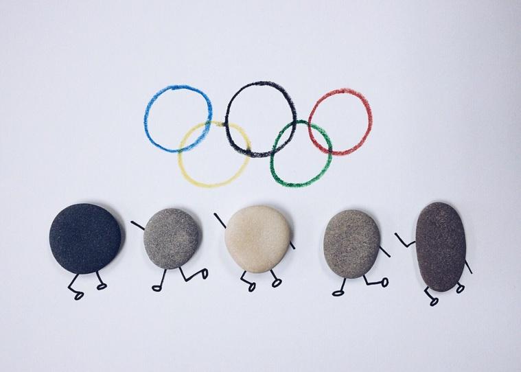 Des jeunes français motivés par l'organisation des Jeux Olympiques 2024