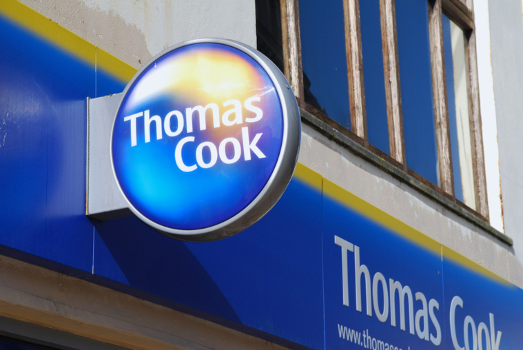 Thomas Cook : sa faillite va causer la fermeture de 500 hôtels