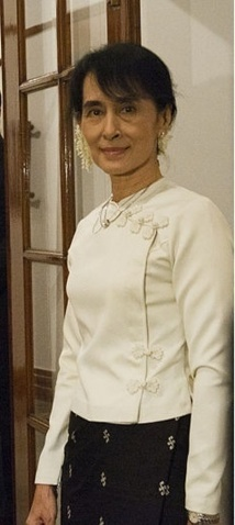Aung San Suu Kyi, « la Dame » de la démocratie birmane