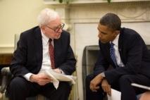 Warren Buffet & Barack Obama