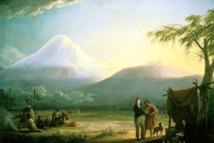 Alexandre de Humboldt et Aimé Bonpland au pied du volcan Chimborazo - Friedrich Georg Weitsch (1810)