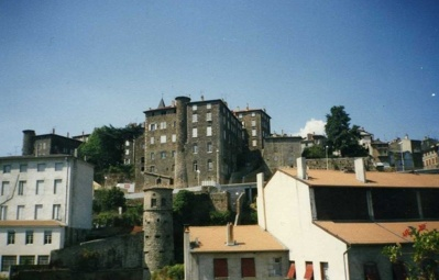Le village d'Annonay en Ardèche - Crédit photo : Evelyine