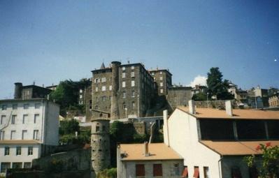 Le village d'Annonay en Ardèche - Crédit photo : Evelyine
