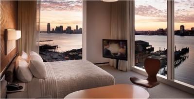 Une chambre du Standard Hotel - Crédit photo : http://standardhotels.com