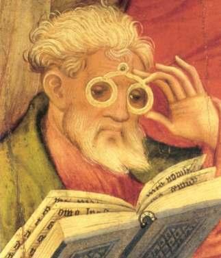 L'apôtre aux lunette (1403) - Conrad von Soest