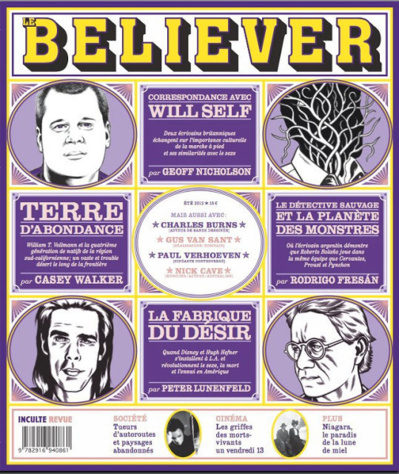 Le Believer :  Quand une revue mythique traverse l'Océan... Attention à l'iceberg ?