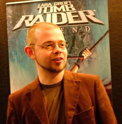 Toby Gard, créateur de la série Tomb Raider - Crédit photo : Jon Jordan
