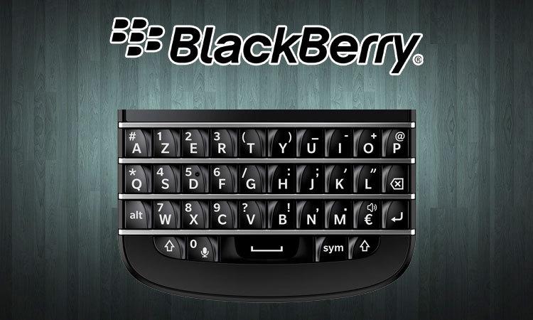 BlackBery menace d'attaquer en justice une start-up pour contrefaçon de son clavier