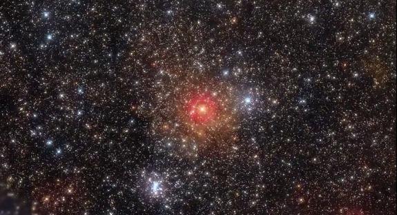 HR 5171, une étoile jaune qui brille un million de fois plus que le Soleil