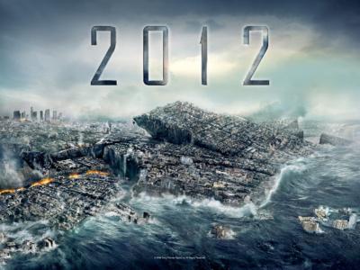 DR affiche du film catastrophe 2012