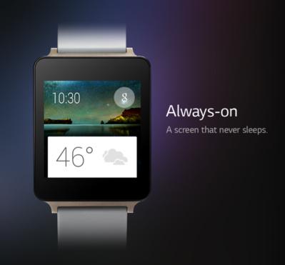 """""""G-Watch"""" : une montre connectée sur Android Wear"""