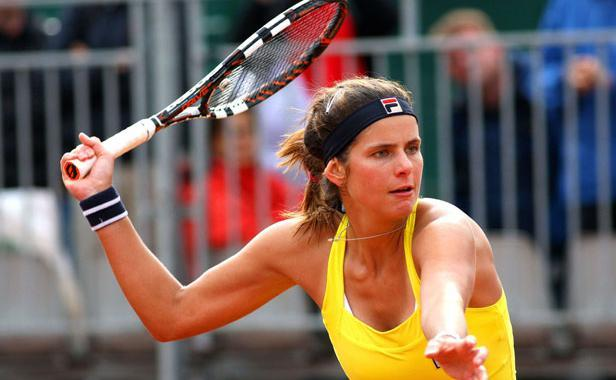À Roland Garros, Julia Goerges