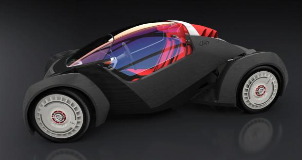 Strati, la voiture électrique imprimée en 3D