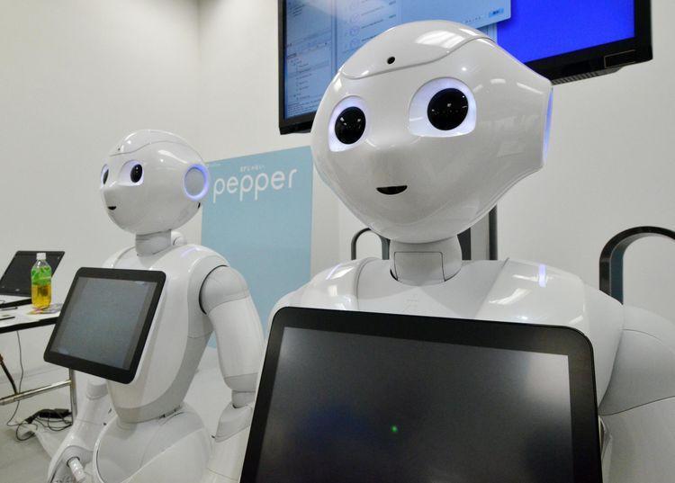 Les vendeurs robots Pepper