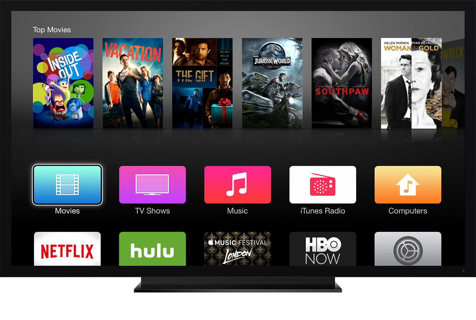 Twitter sur l'Apple TV, une rumeur qui plait à la bourse