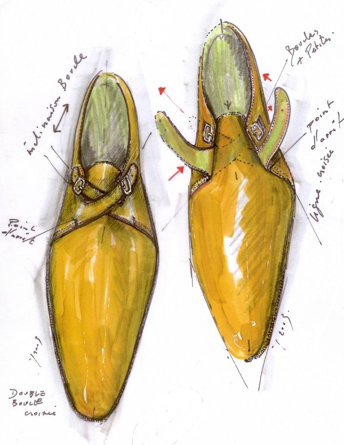 Aubercy : « Le soulier est un élément de séduction masculine»