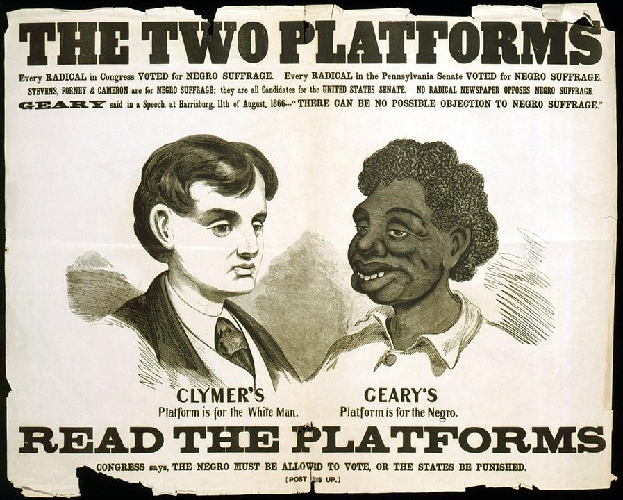 ILD - Affiche ségrégation USA