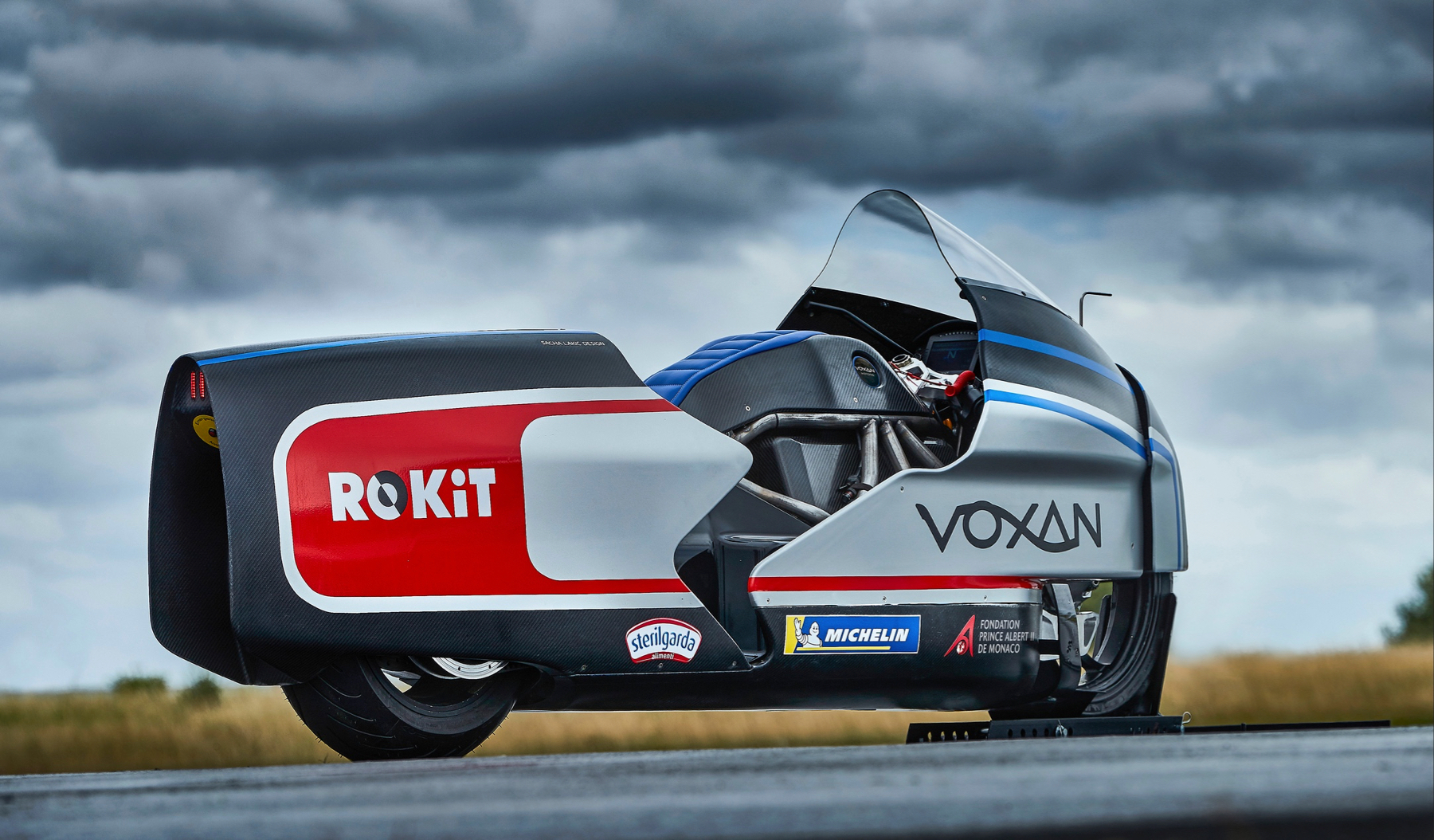 Voxan, une moto électrique française pour battre le record du monde de vitesse