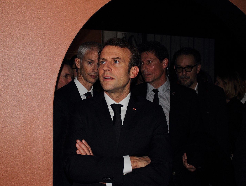 Emmanuel Macron promet son aide à la cheffe de l'opposition biélorusse