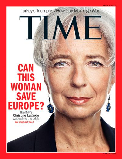 Christine Lagarde affirme que la crise n'est pas derrière nous