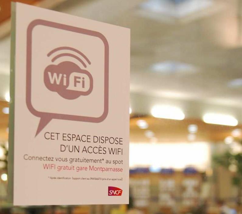 Le wi-fi gratuit arrive dans les gares