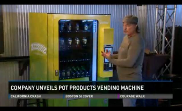 Le premier distributeur automatique de cannabis a été installé au Etats-Unis