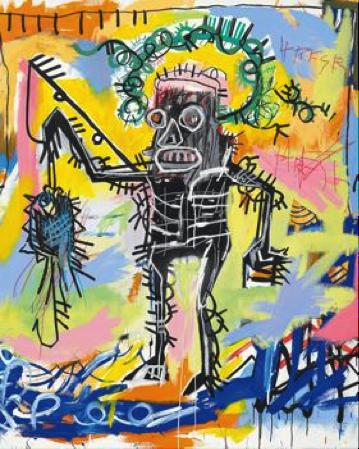 Jean-Michel Basquiat. Sans titre, 1981.