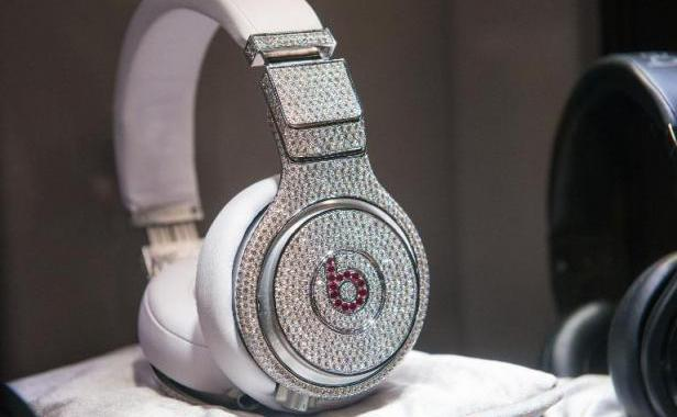 Casque stéréo Dr. Dre par Beats & Graff Diamonds