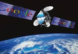 Des satellites Google dans le ciel