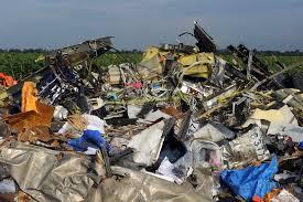 MH17, le site du crash