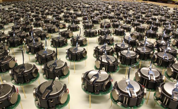 Les petits robots des chercheurs de Harvard