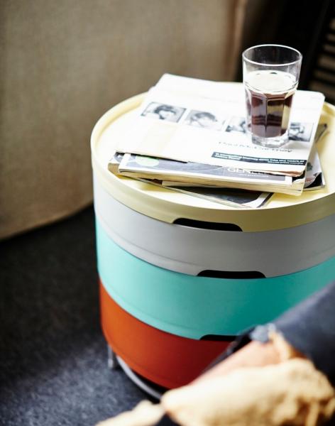 Storage Table, Rich Brilliant Willing