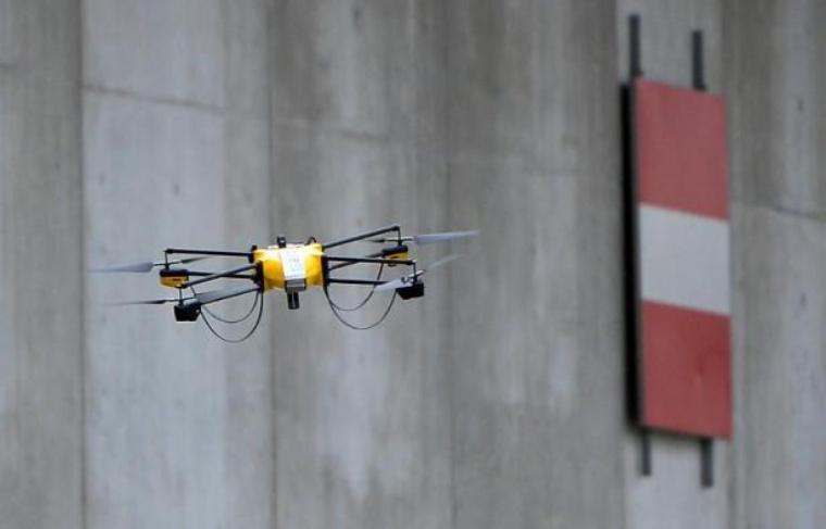 Un drone de la SNCF à Orange, l'année dernière