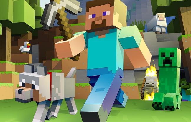 Un personnage de Minecraft
