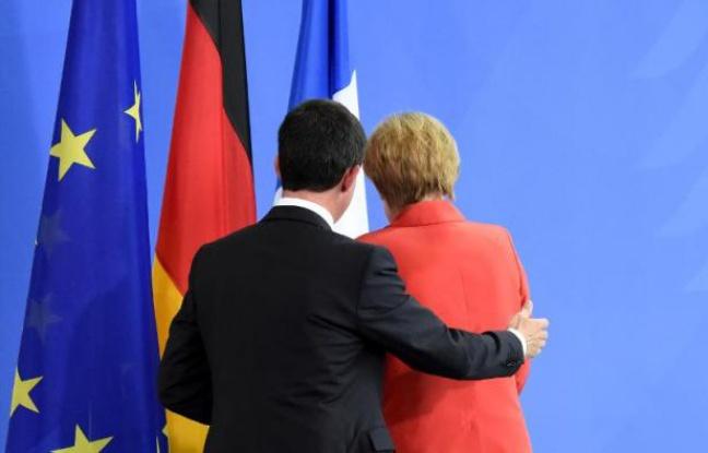 Le premier ministre et la chancelière allemande