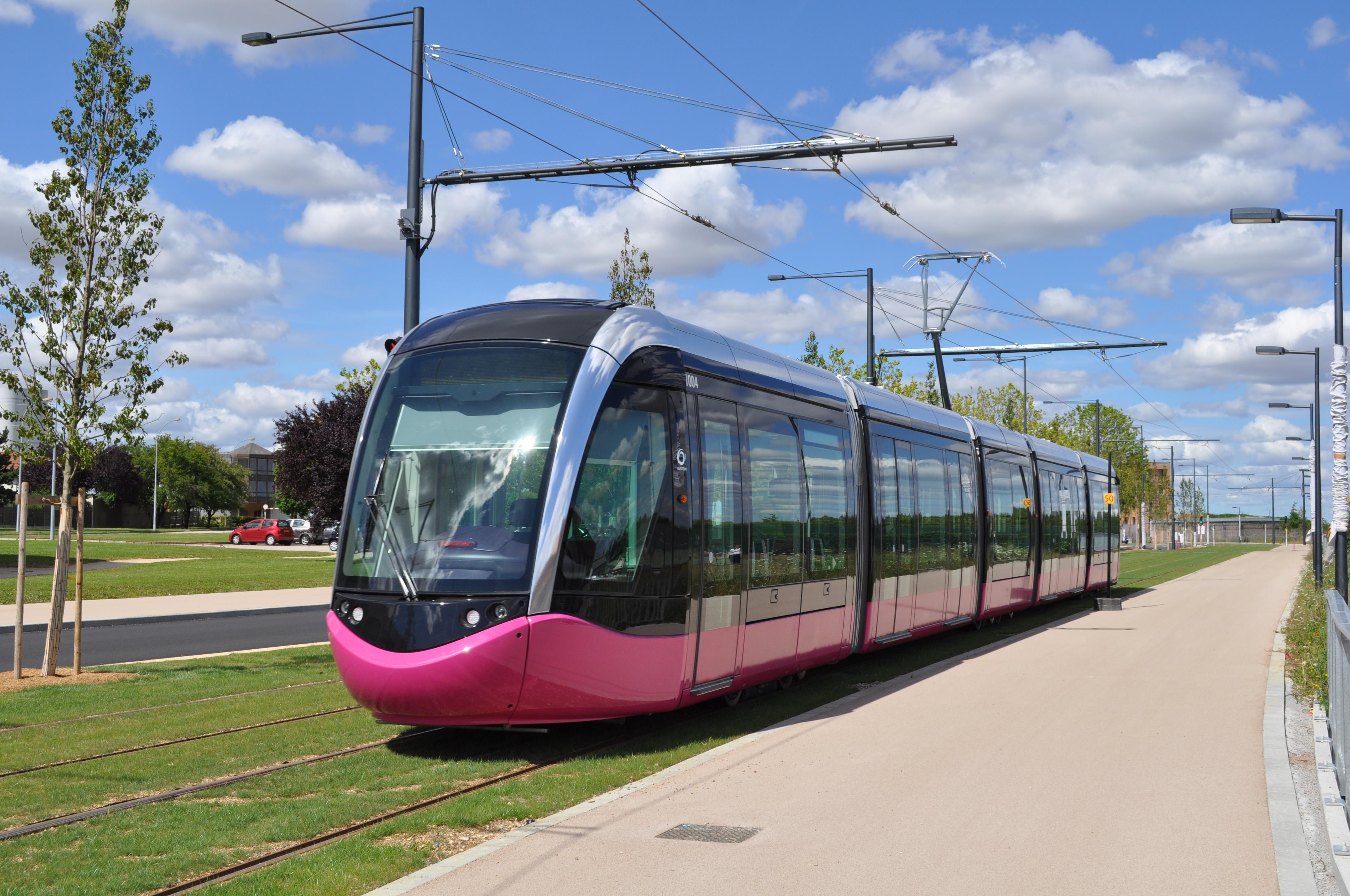 Le tramway de Dijon (sous licence Creative Commons)