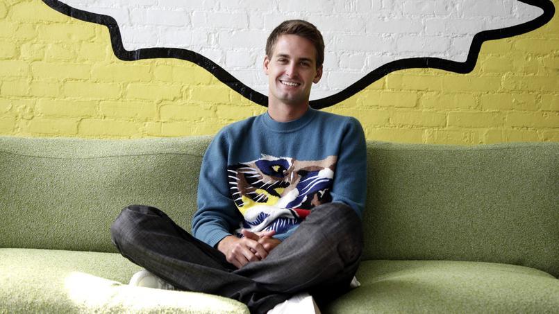 Evan Spiegel, le PDG de Snapchat