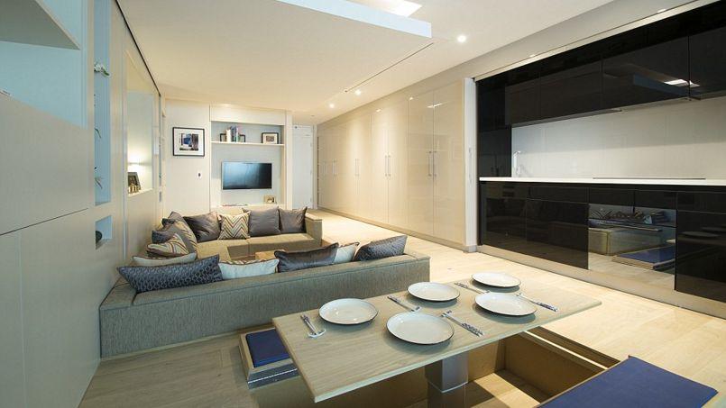 Petit appartement, grandes idées