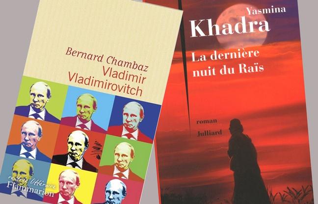 Poutine et Kadhafi, personnages de romans
