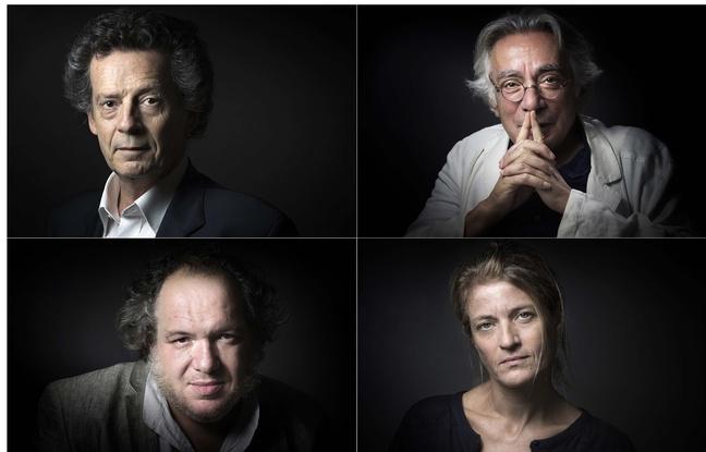Les quatre finalistes du Goncourt 2015