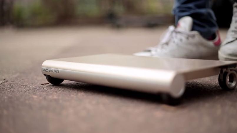 « WalkCar », la tablette roulante