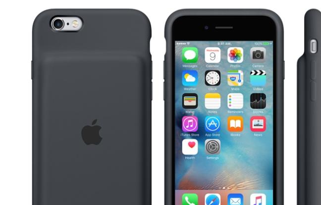 Apple : première coque-batterie pour derniers iPhone