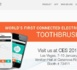 Une brosse à dents connectée internet
