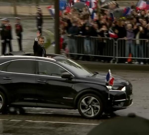 Emmanuel Macron a opté pour Citroën