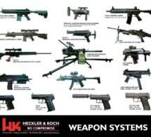 Les fusils de l'armée françaises seront allemands