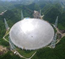 La Chine veut trouver des extraterrestres avec le plus grand télescope du monde