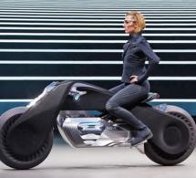 BMW n'invente pas encore la moto du futur mais fait déjà parler d'elle