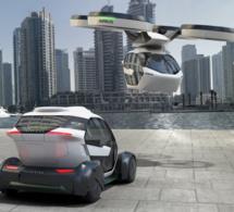 Airbus et Italdesign présentent un drone taxi autonome