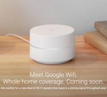 Google lance Google Wifi pour améliorer la qualité de la connexion