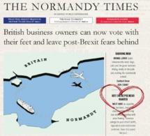 Londres : Une pub Normande qui parle Brexit censurée par le métro